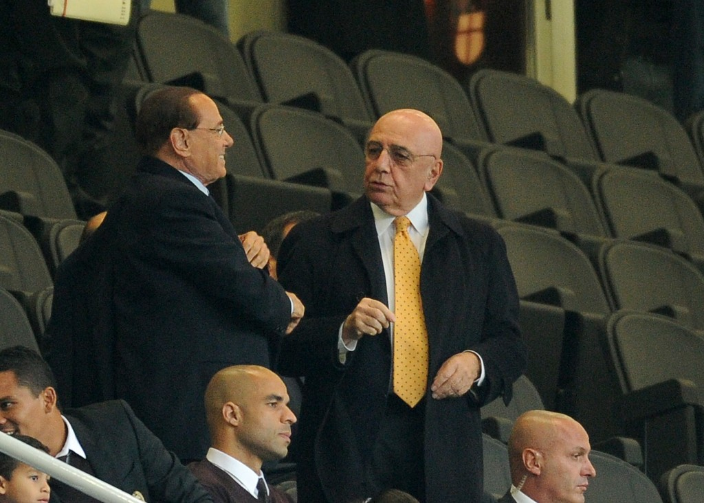 during the Berlusconi Trophy match between AC