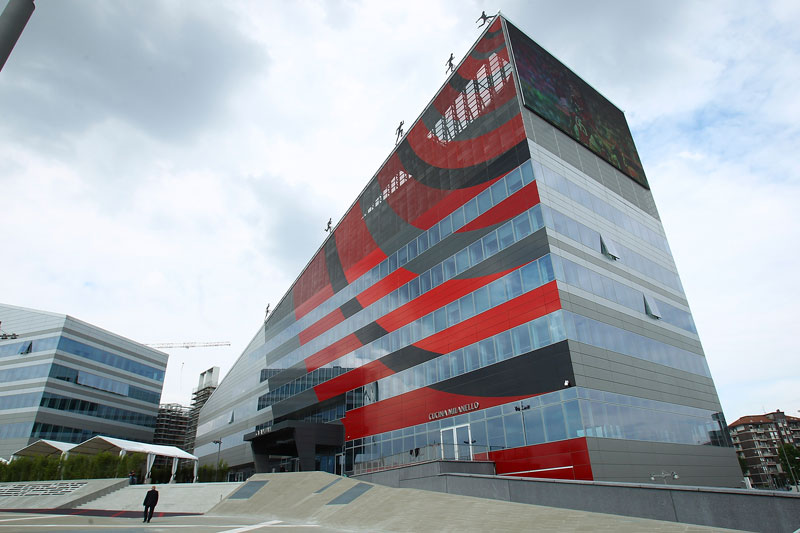 A general view of the Casa Milan during the inauguration of AC Milan's new purpose-built headquarters, Casa Milan on May 19, 2014 in Milan, Italy. (Photo by Marco Luzzani/Getty Images)