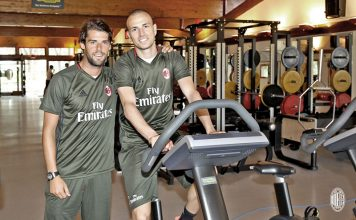 Andrea Poli and Luca Antonelli (@acmilan.com)