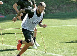 Menez in training (@acmilan.com)