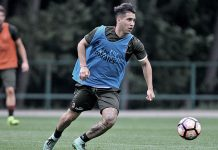 Jose Mauri in training at Milanello (@acmilan.com)