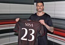 Jose Sosa at Casa Milan today (@acmilan,com)