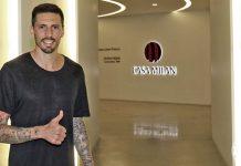 Jose Sosa at Casa Milan (@acmilan.com)