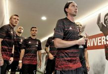 Montolivo leading the squad before the match with Torino (@acmilan.com)