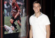 Mario Pasalic at Casa Milan (@acmilan.com)