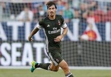 Romagnoli against Liverpool during the International Champions Cup match at Levi's Stadium on July 30, 2016 in Santa Clara, California. (Photo by Lachlan Cunningham/Getty Images)