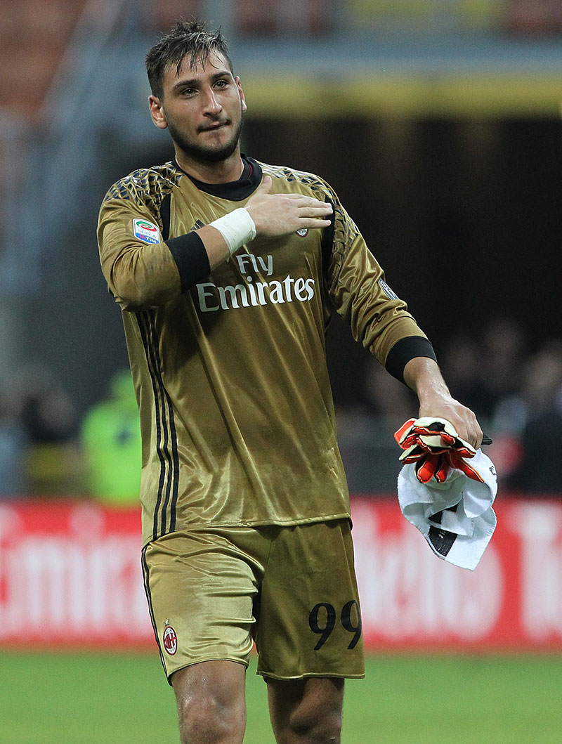 Donnarumma becomes youngest player to be called-up by