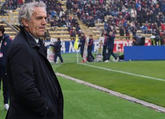 Roberto Donadoni head coach of Bologna FC looks on during the Serie A match between Bologna FC and Carpi FC at Stadio Renato Dall'Ara on March 6, 2016 in Bologna, Italy. (Photo by Mario Carlini / Iguana Press/Getty Images)