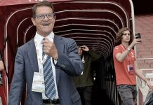 Fabio Capello at the Emirates Stadium on the 3rd of September 2016 for Arsenal Legends-MIlan Glories (@acmilan.com)