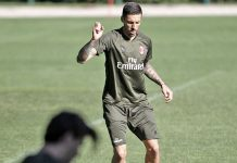 Jose Sosa in training at Milanello (@acmilan.com)