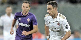 Giacomo Bonaventura during Fiorentina-Milan on the 25th of September at Stadio Artemio Franchi (@acmilan.com)
