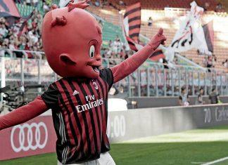 The Milan mascot (@acmilan.com)