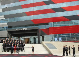 Casa Milan on May 19, 2014 in Milan, Italy. (Photo by Marco Luzzani/Getty Images)