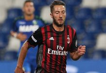 Bertolacci during Trofeo TIM at Mapei Stadium on August 10, 2016 (Photo by Marco Luzzani/Getty Images)