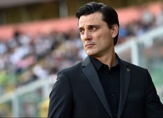 Montella during during Palermo-Milan at Stadio Renzo Barbera on the 6th of November 2016. (Photo by Tullio M. Puglia/Getty Images)