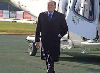 Silvio Berlusconi at Milanello on the 11th of December 2015 (@acmilan.com)