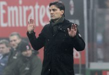Vincenzo Montella during Milan-Atalanta at Stadio San Siro on the 17th of December 2016 (Photo by Marco Luzzani/Getty Images)