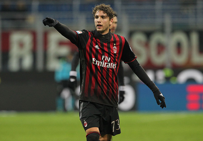 Locatelli during Milan-Cagliari at Stadio San Siro on the 8th of January 2017. (Photo by Marco Luzzani/Getty Images)