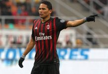 Bacca during Milan-Sampdoria at Stadio San Siro on the 5th of February 2017 (Photo by Marco Luzzani/Getty Images)