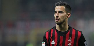 Suso during Milan-Napoli at Stadio San Siro on the 21st of January 2017. (Photo by Marco Luzzani/Getty Images)