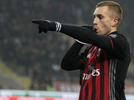 Gerard Deulofeu during Milan-Fiorentina at Stadio San Siro on the 19th of February 2017. (Photo by Marco Luzzani/Getty Images)