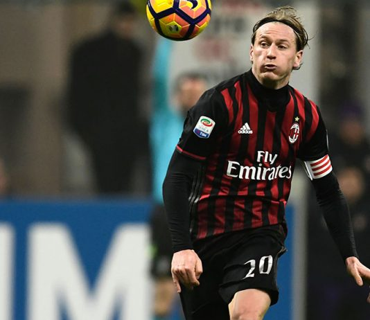 Ignazio Abate during Milan-Fiorentina at Stadio San Siro on the 19th of February 2017 (MIGUEL MEDINA/AFP/Getty Images)