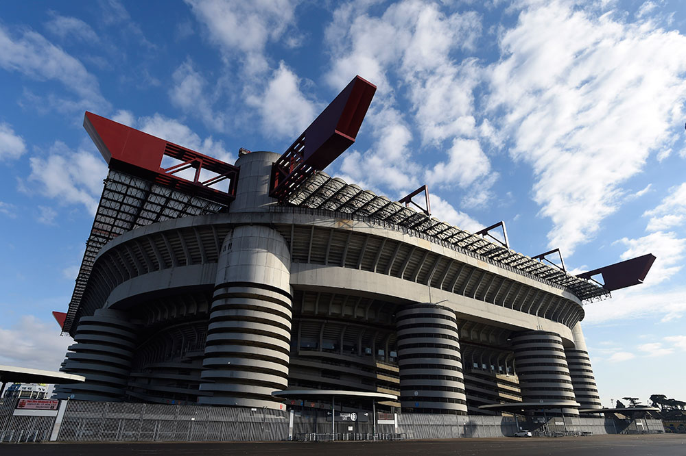 Stadio San Siro on the 7th of February 2017. (MIGUEL MEDINA/AFP/Getty Images)