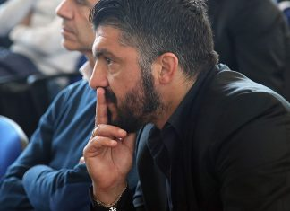 Rino Gattuso during the FIGC 'Panchine D'Oro E D'Argento' Prize at Coverciano on March 27, 2017. (Photo by Maurizio Lagana/Getty Images)