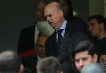 Marco Fassone before Milan-Empoli at Stadio San Siro on April 23, 2017. (Photo by Marco Luzzani/Getty Images)