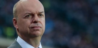 Marco Fassone before Atalanta-Milan at Stadio Atleti Azzurri d'Italia on May 13, 2017. (Photo by Emilio Andreoli/Getty Images)