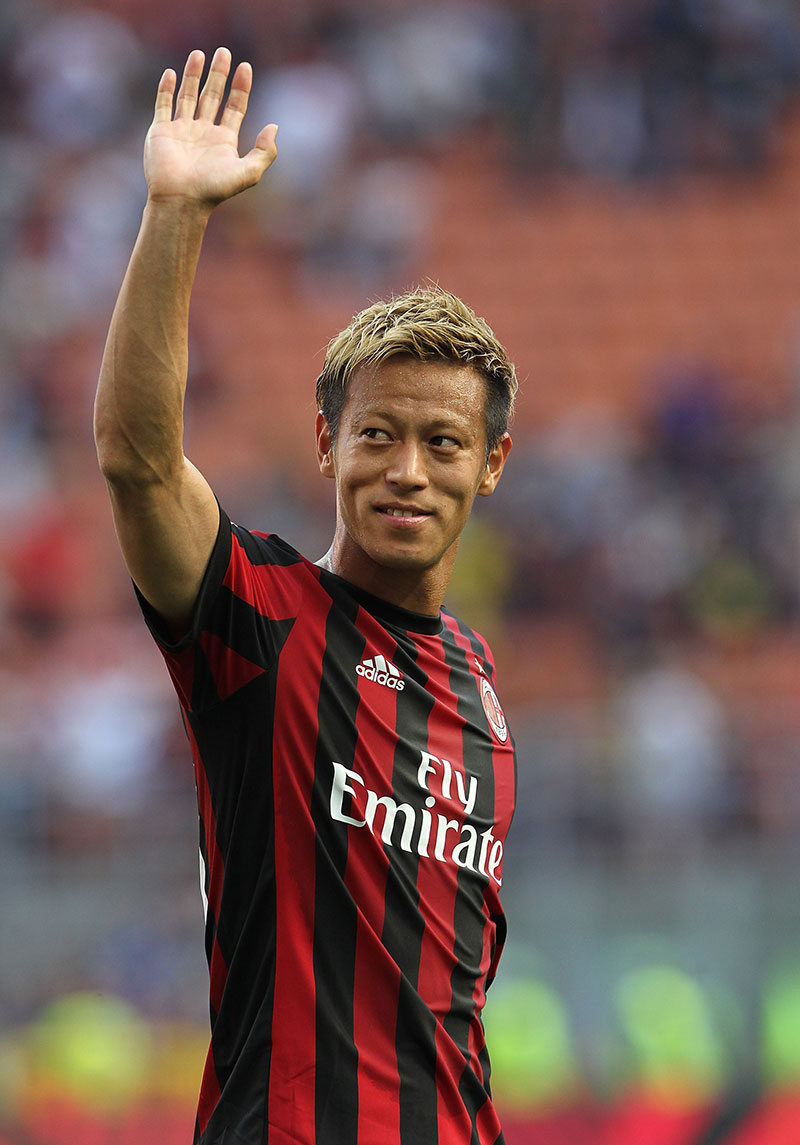 "Honda ""I m going to leave Milan after this season I ll continue"