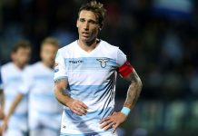 Lucas Biglia during Empoli-Lazio at Stadio Carlo Castellani on February 18, 2017. (Photo by Gabriele Maltinti/Getty Images)