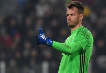 Norberto Neto during Juventus-Napoli at the Juventus Stadium on February 28, 2017. (Photo by Valerio Pennicino/Getty Images)