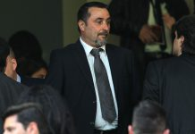 Massimiliano Mirabelli before Milan-Empoli at Stadio San Siro on April 23, 2017. (Photo by Marco Luzzani/Getty Images)