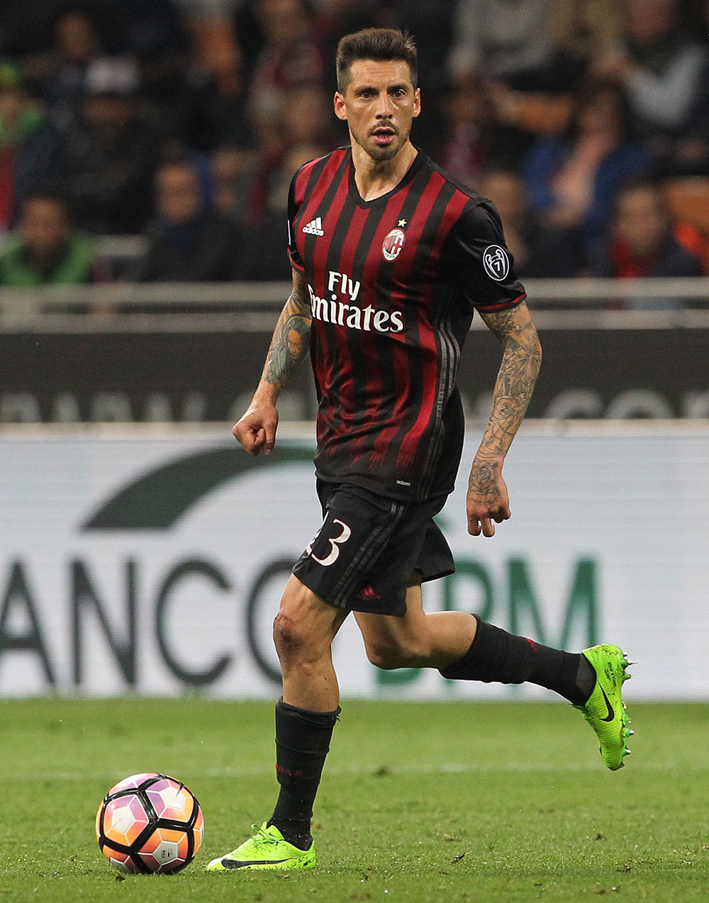 Jose Sosa during Milan-Roma at Stadio San Siro at Stadio San Siro on May 7, 2017. (Photo by Marco Luzzani/Getty Images)