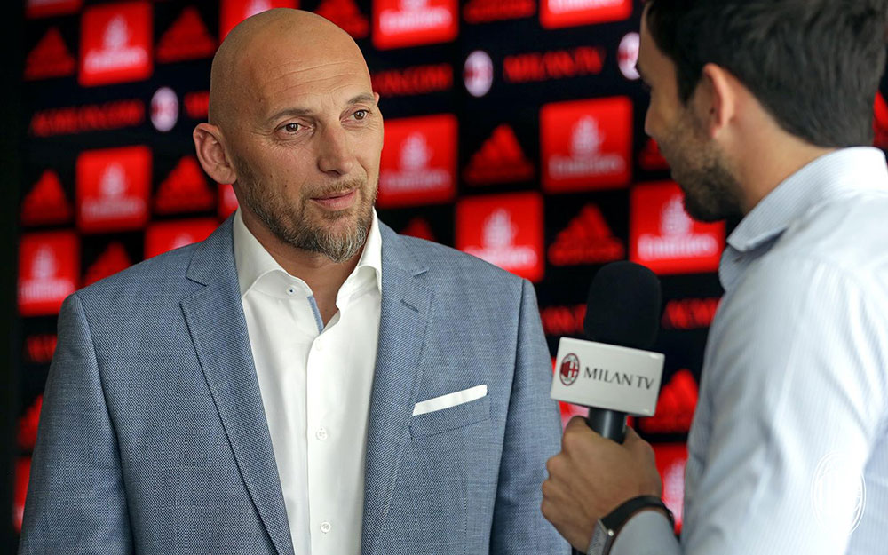 Christian Abbiati at Casa Milan on June 14th, 2017. (@acmilan.com)