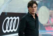 Vincenzo Montella during Bayern Munich-Milan and at Universiade Sports Centre Stadium on July 22, 2017 in Shenzhen, China. (Photo by Lintao Zhang/Getty Images)