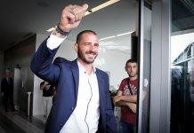Leonardo Bonucci at Casa Milan on the 14th of July, 2017. (@acmilan.com)