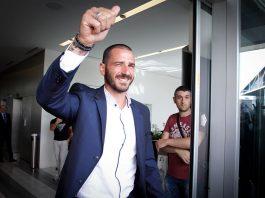Leonardo Bonucci at Casa Milan on the 14th of July, 2017. (@acmilan.com)