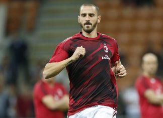 Leonardo Bonucci before Milan-SPAL at Stadio San Siro on September 20, 2017. (@acmilan.com)