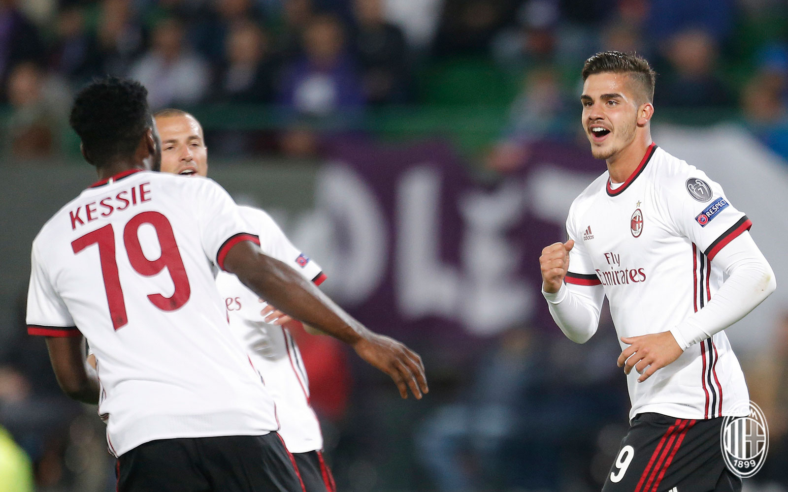 "André Silva ""Milan had a great game I m happy to bring the ball"