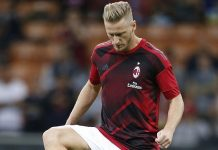 Ignazio Abate before Milan-SPAL at Stadio San Siro on September 20, 2017. (@acmilan.com)