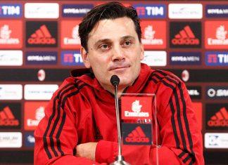 Vincenzo Montella during a press conference at Milanello. (@acmilan.com)