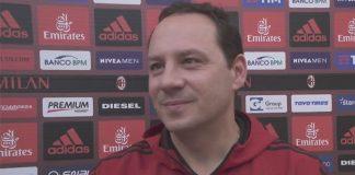 Stefano Mazzoni talking to MilanTV at Milanello on October 17, 2017. (@acmilan.com)