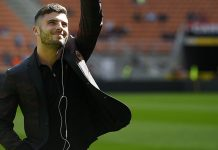 Patrick Cutrone before Milan-Udinese at Stadio San Siro on the September 17, 2017. (@acmilan.com)