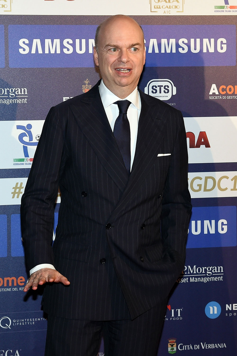 Marco Fassone during a Gran Galà del Calcio event on November 27, 2017 in Milan, Italy. (Photo by Pier Marco Tacca/Getty Images)