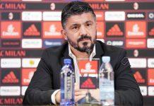 Gennaro Gattuso during a press conference at Milanello on November 28, 2017. (@acmilan.com)