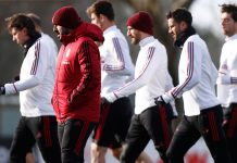The squad during training at Milanello. (@acmilan.com)