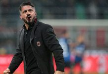 Gennaro Gattuso at the end of Milan-Inter at Stadio San Siro on December 27, 2017. (Photo by Emilio Andreoli/Getty Images)