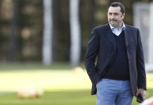 Massimiliano Mirabelli at training center Milanello on January 4, 2018. (@acmilan.com)